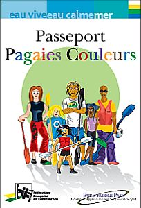 Passeport pagaies couleurs