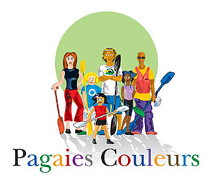 Pagaies couleurs